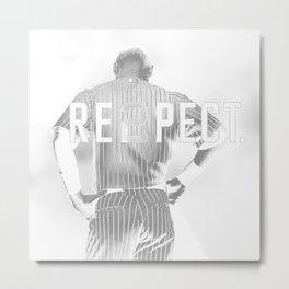 Derek Jeter Metal Print