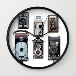 Camera Collection Wall Clock