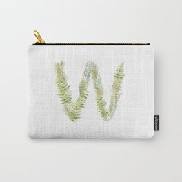 Initial W Carry-All Pouch