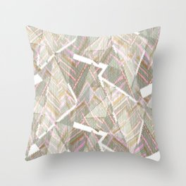 Abstraction 1 Throw Pillow