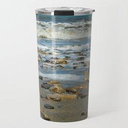 Beach Rocks Travel Mug