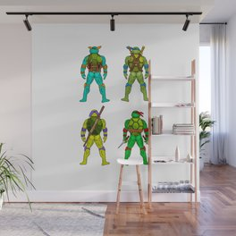 Superhero Butts - Turtles Wall Mural