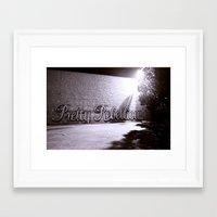 rebel Framed Art Prints featuring Rebel by Monica Ortel ❖