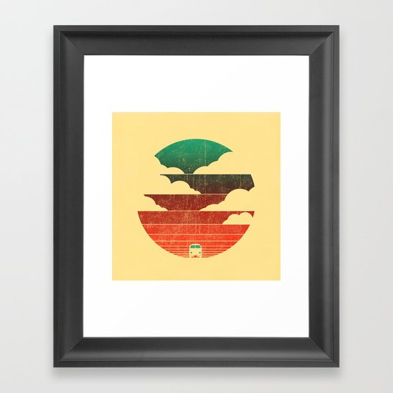 Go West Framed Art Print