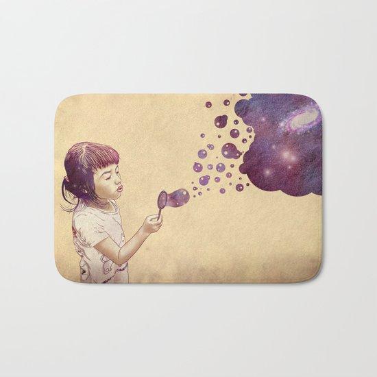 Cosmic Bubbles Bath Mat