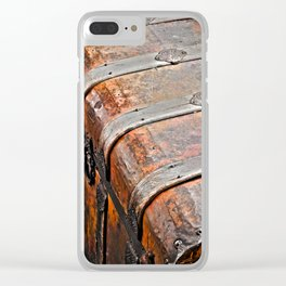 Vintage Bag is Packed Clear iPhone Case
