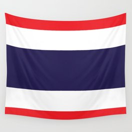 Flag of Thailand Wall Tapestry