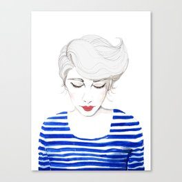 Wow, Stripes! Canvas Print
