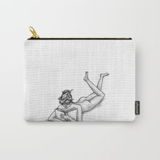 Reading Naked Carry-All Pouch
