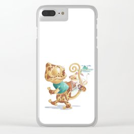 Finding Treasure Island Clear iPhone Case