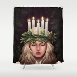Santa Lucia Shower Curtain
