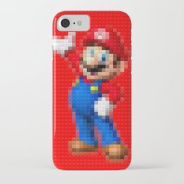Mario - Toy Building Bricks iPhone Case