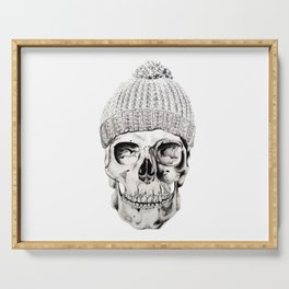Skull with Hat Serving Tray