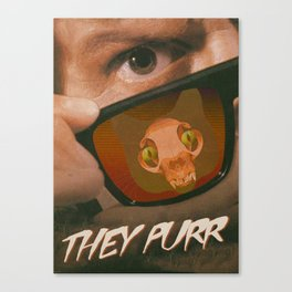They Purr Canvas Print
