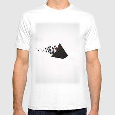 Magic Pyramid MEDIUM White Mens Fitted Tee