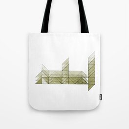 Congruence of Triangles in Light Green Tote Bag