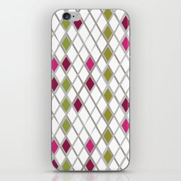 Diamond Wrapping Paper iPhone Skin