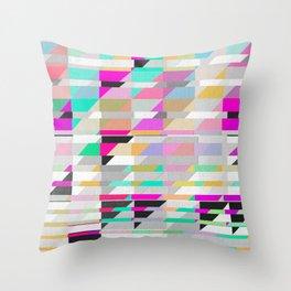 Geometric Deconstruct Throw Pillow