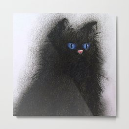Smudge Cat 1 Metal Print