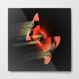 Connie's Butterfly Metal Print