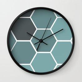 hexi Wall Clock