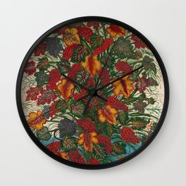 Seraphine Louis - The Large Bouquet Wall Clock