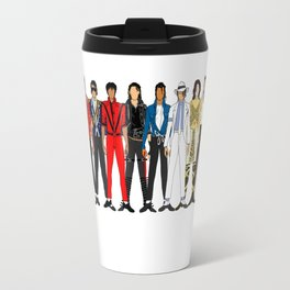 Outfits of King MJ Pop Music Travel Mug