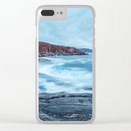 Grense Jakobselv Clear iPhone Case