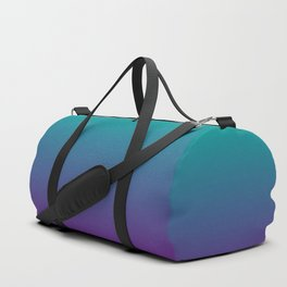 Ombre | Teal and Purple Duffle Bag