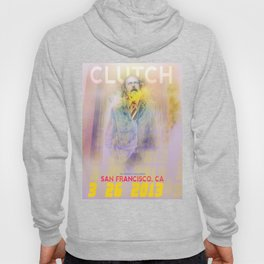 Clutch San Francisco Poster (Full Color) Hoody