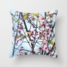 Eternal Spring Throw Pillow