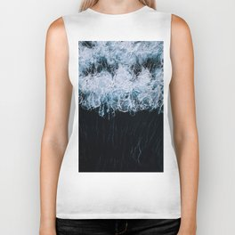 The Color of Water - Seascape Biker Tank