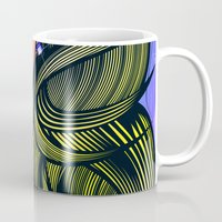 rupaul Mugs featuring RUPAUL by Alli Vanes