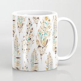 Boho Festival Feather Coffee Mug