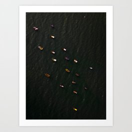Fishing boats 1 Art Print