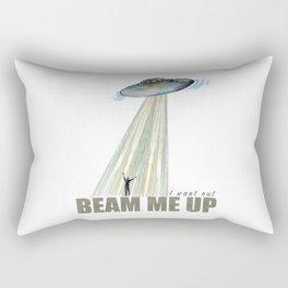 Beam me up - by Fanitsa Petrou Rectangular Pillow