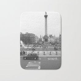Trafalgar Square, London England Bath Mat