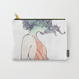 Red Dress Carry-All Pouch