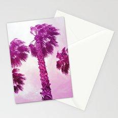 Neon Palms Stationery Cards