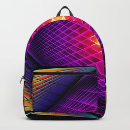 Overlapping Backpack