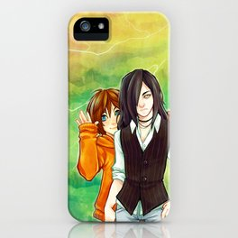 Heat Lightning iPhone Case