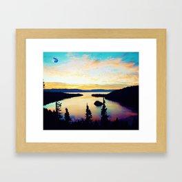 Emerald Bay State Park, South Lake Tahoe, United States Framed Art Print