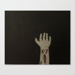 Cable Child Canvas Print
