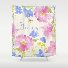 Garden Dream Pattern Shower Curtain