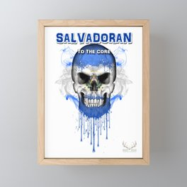 To The Core Collection: El Salvador Framed Mini Art Print