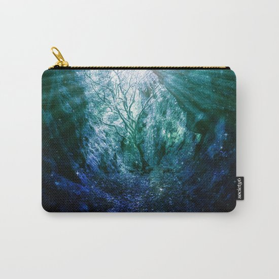 Mystic Tree of Life & Death Carry-All Pouch