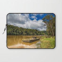 Pontoon on the Barron River Laptop Sleeve