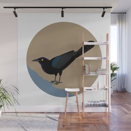 Great-tailed Grackle Wall Mural