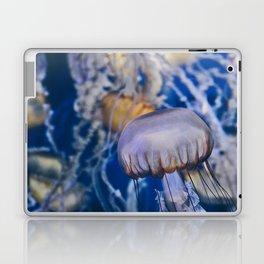 Jellyfish in Blue Laptop & iPad Skin