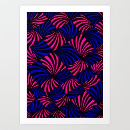 Parabolic Fans Art Print